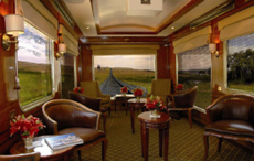 Luxurious Comfort with the Blue Train